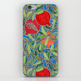 Pomegranate Branches and Fruit iPhone Skin