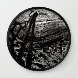 Dreaming Mother Earth Wall Clock