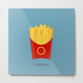 OOOH Some French Fries Metal Print