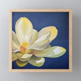 Lotus Square New Framed Mini Art Print
