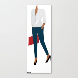 White Shirt B Canvas Print