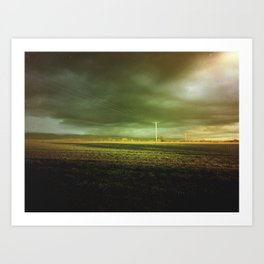 The Coming Storm Art Print