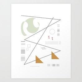 Comp_004 Art Print