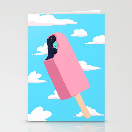 Creamsicle To Another Dimension...  Stationery Cards