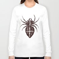 spider Long Sleeve T-shirts featuring Spider by Bwiselizzy