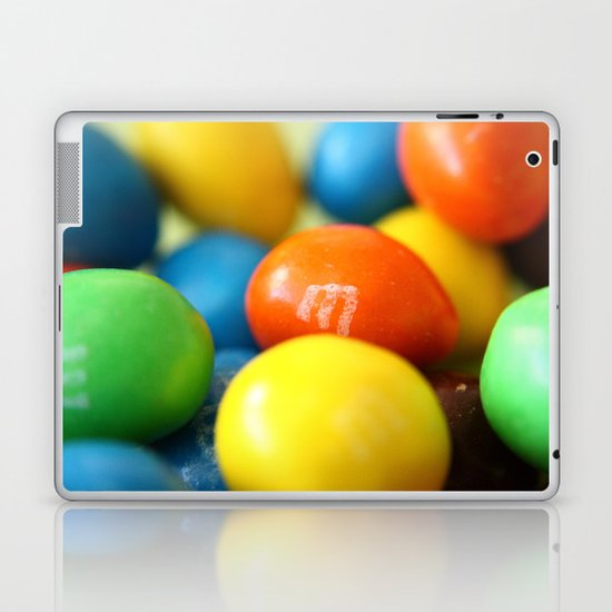 Colourful M&M's Laptop & iPad Skin