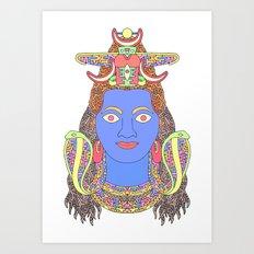 Shiva Art Print