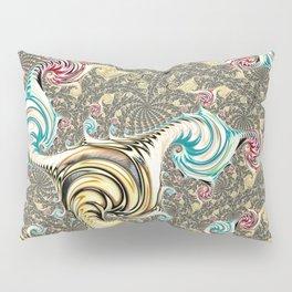 Incandescent Fractal Pillow Sham