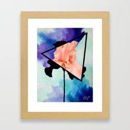 Ironic Iris Framed Art Print
