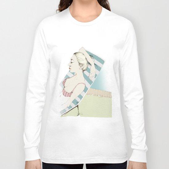 Sunbathing Long Sleeve T-shirt