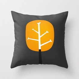 Tree Bone Throw Pillow