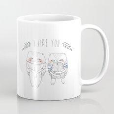 I like you cat Mug