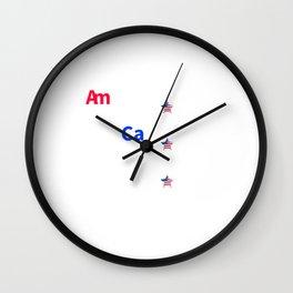 Hardest Working Elements Wall Clock