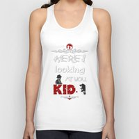 casablanca Tank Tops featuring Here's looking at you, kid. by Siriusreno