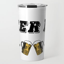 """Retro Vintage """"Beer Me, I'm Going To Be A Dad!"""" Travel Mug"""
