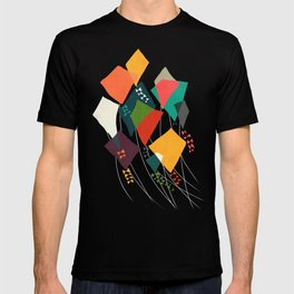 Whimsical kites T-shirt