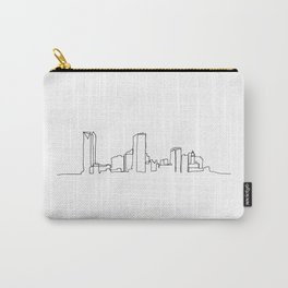 Oklahoma City Skyline Drawing Carry-All Pouch