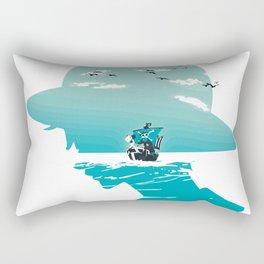 The King of Pirates Rectangular Pillow