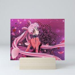 Black Pink Mini Art Print