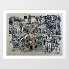 KYOTO MOMENT Art Print