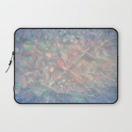 Sparkling Crystal Maze Abstract Laptop Sleeve