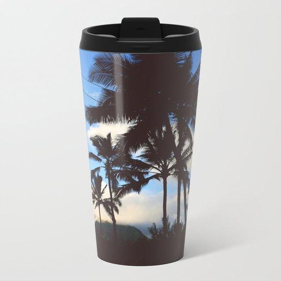 Cali Palms Metal Travel Mug