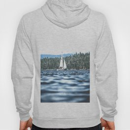 Calm Lake Sailboat Hoody