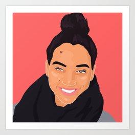 @ashleycecillethompson Art Print