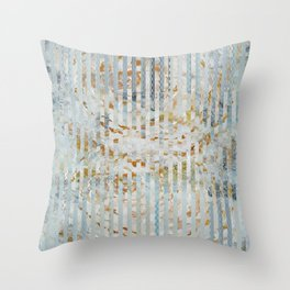 Gold roses Throw Pillow