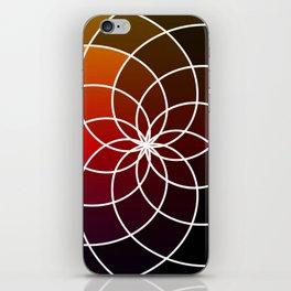 Dark Kaleidoscope iPhone Skin