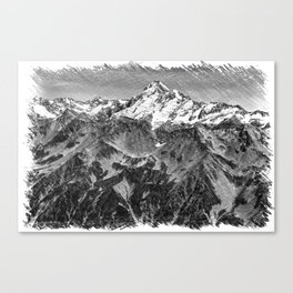 New Zealand Peak Canvas Print