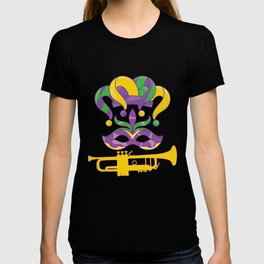 Trumpet Mask Parade T-shirt