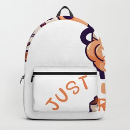 Just A Girl Who Loves Cigarettes Backpack