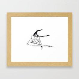 bait Framed Art Print