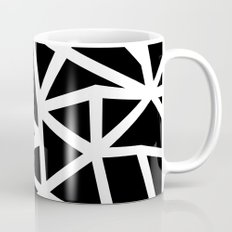Ab Outline Thicker Black Mug