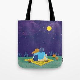 an autumn night Tote Bag