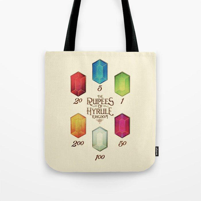 Legend of Zelda - Tingle's The Rupees of Hyrule Kingdom Tote Bag