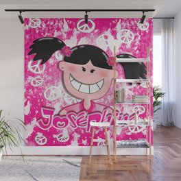 Josephine with Peace! Wall Mural