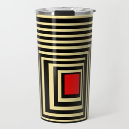 Red point Travel Mug