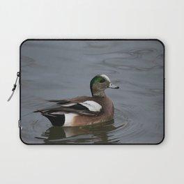 American Wigeon - Male Duck Laptop Sleeve