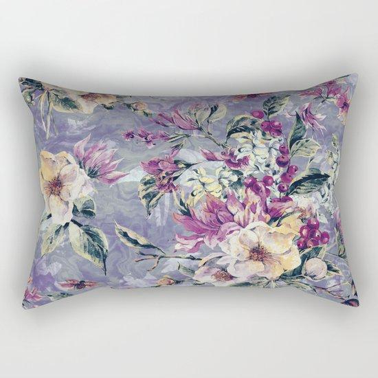 Floral Ocean IV Rectangular Pillow