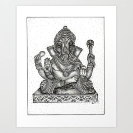 Remover of Obstacles Art Print