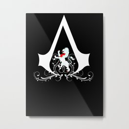Talbot Family Assassin  Metal Print