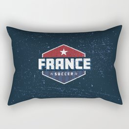 France World Soccer Rectangular Pillow