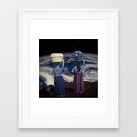 planet Framed Art Prints featuring Planet by Cs025