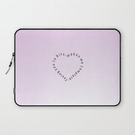 Heartbits  #society6 #heart #love #buyart Laptop Sleeve