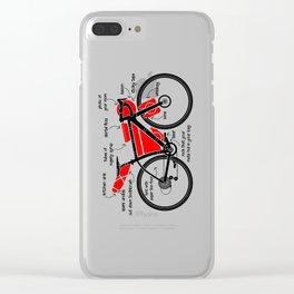 Bikepacking Clear iPhone Case