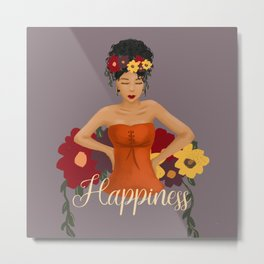 Celebration of Happiness Metal Print