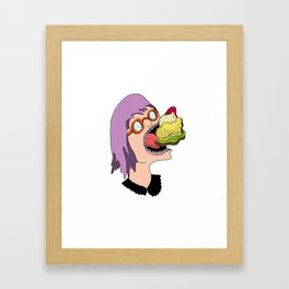 HUNGRIG Framed Art Print