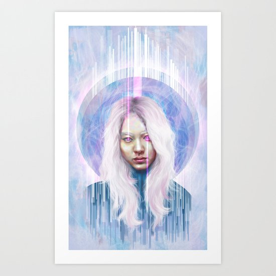 Languid Art Print